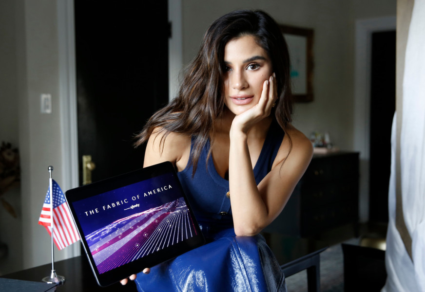 Diane Guerrero Helps Launch 'Fabric of America' Campaign